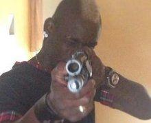 Balotelli Gun